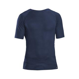 GripGrab  Merino Polyfibre Short SleeveTermo marškinėliai, Navy Blue