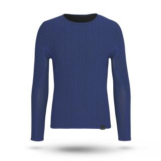 GripGrab Freedom Seamless  Termo marškinėliai, Navy Blue