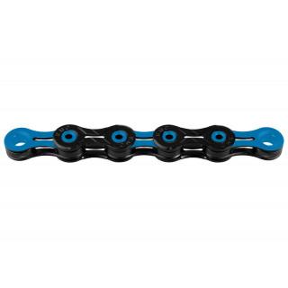 KMC X10SL DLC Black/Blue grandinė, 10 pavarų, 116 narelių