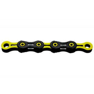 KMC X11SL DLS Black/Yellow grandinė, 11 pavarų, 118 narelių