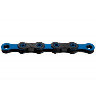 KMC X12 DLC Black/Blue grandinė, 12 pavarų, 126 narelių
