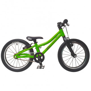KUbikes 16S TOUR vaikiškas dviratis, green