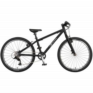 KUbikes 24L MTB vaikiškas dviratis, black