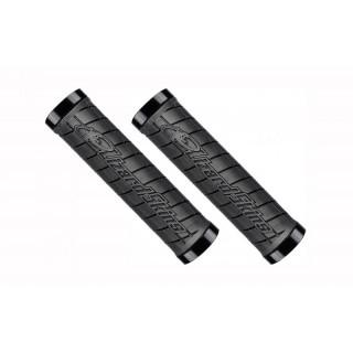 Lizard Skins Lock-On Logo vairo rankenėlės, black