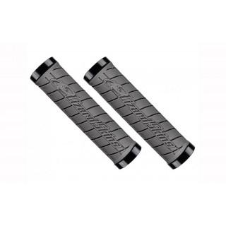 Lizard Skins Lock-On Logo vairo rankenėlės, graphite