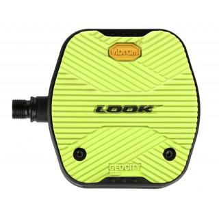Look GEO CITY GRIP Lime pedalai