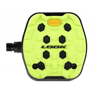 Look TRAIL GRIP Lime pedalai