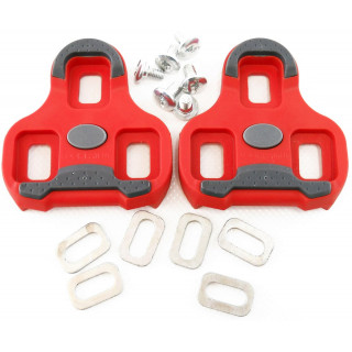 Look KEO pedalų plokštelės raudonos (ARC 9°)