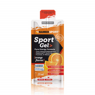 NamedSport Sport Orange energetinis gelis, 25 ml