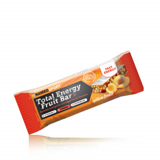 NamedSport Total Energy Yellow Fruit energetinis batonėlis, 35 g