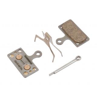 Shimano G04Ti Metal diskinių stabdžių kaladėlės
