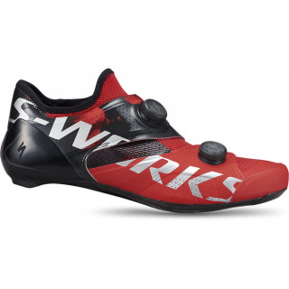 S-WORKS Ares plentiniai dviratininko bateliai, Red
