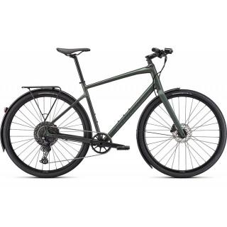 SPECIALIZED SIRRUS X 4.0 EQ fitness dviratis / Satin Oak Green Metallic