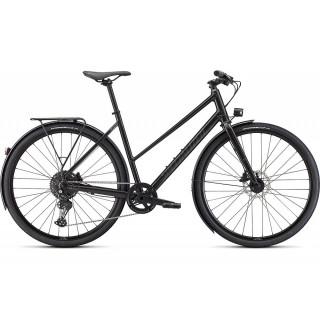 SPECIALIZED SIRRUS X 3.0 STEP-THROUGH EQ fitness dviratis / Gloss Nearly Black