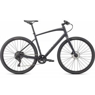 SPECIALIZED SIRRUS X 3.0 fitness dviratis / Satin Cast Black