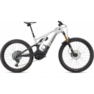 S-WORKS TURBO LEVO elektrinis kalnų dviratis / Metallic White Silver - Chrome