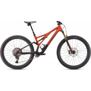 S-WORKS STUMPJUMPER kalnų dviratis / Satin Redwood - Smoke