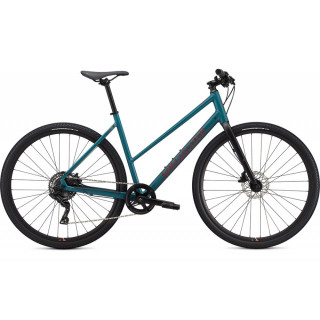 SPECIALIZED SIRRUS X 2.0 STEP-THROUGH fitness dviratis / Dusty Turquoise
