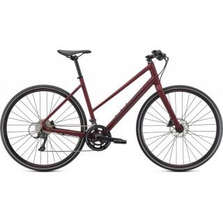 SPECIALIZED SIRRUS 3.0 STEP THROUGH fitness dviratis - 2021 / Satin Maroon