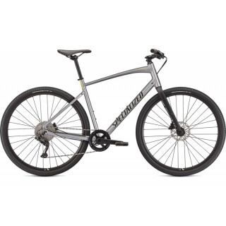 SPECIALIZED SIRRUS X 3.0 fitness dviratis / Gloss Silver