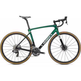 S-WORKS ROUBAIX – SRAM RED ETAP AXS plento dviratis / Gloss Green Tint