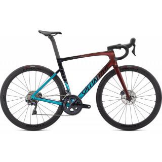 SPECIALIZED TARMAC SL7 EXPERT plento dviratis / Turquoise - Red