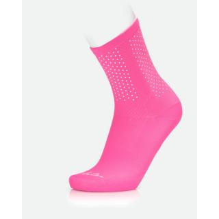 MB Wear Reflective Pink dviratininko kojinės