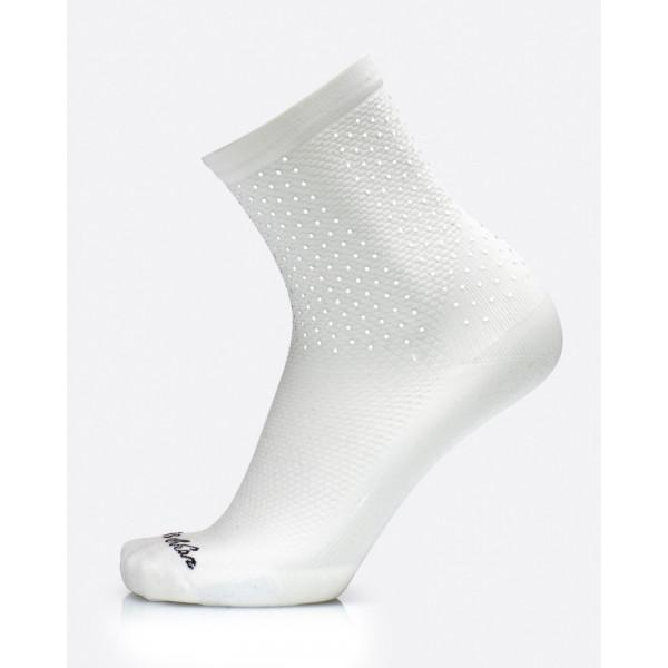 MB Wear Reflective White dviratininko kojinės