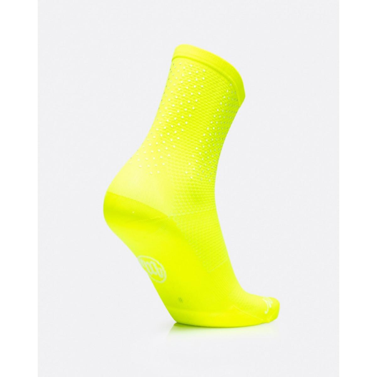 MB Wear Reflective Yellow Fluo dviratininko kojinės