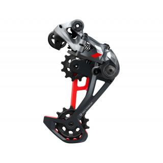 SRAM X01 Eagle galinis pavarų perjungėjas, 12 pavarų, Red