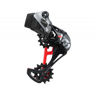 SRAM X01 Eagle AXS galinis pavarų perjungėjas, 12 pavarų (Black/Red)