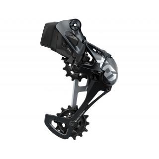 SRAM X01 Eagle AXS galinis pavarų perjungėjas, 12 pavarų (Black/Grey)