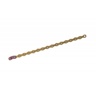 SRAM XX1 Eagle Hollow Pin Gold grandinė, 12 pavarų