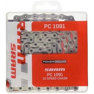 Sram PC-1091R Hollow Pin grandinė, 10 pavarų, 114 narelių