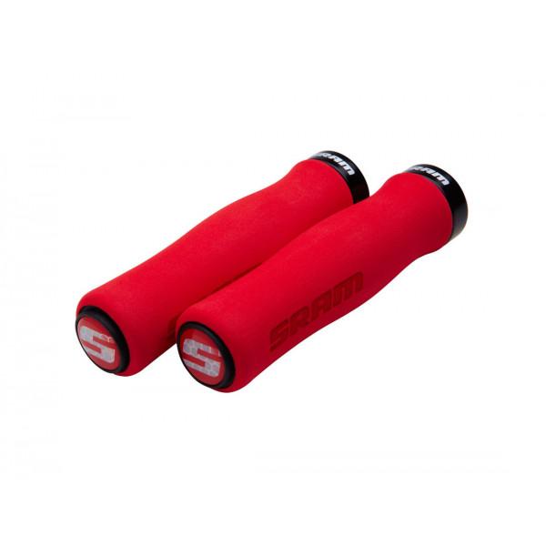 SRAMLocking Contour Foam vairo rankenėlės, red/black