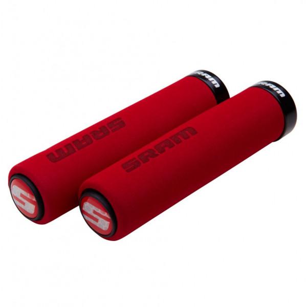 SRAM Locking rubber foam raudonos vairo rankenėlės