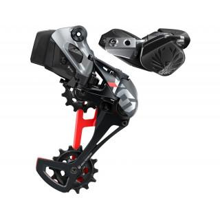 SRAM X01 Eagle AXS Upgrade Kit 1x12 speed (Black/Red)