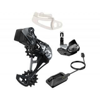 SRAM X01 Eagle AXS Upgrade Kit with Rocker Paddle 1x12 speed (Black/Grey)