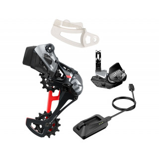 SRAM X01 Eagle AXS Upgrade Kit with Rocker Paddle 1x12 speed (Black/Red)