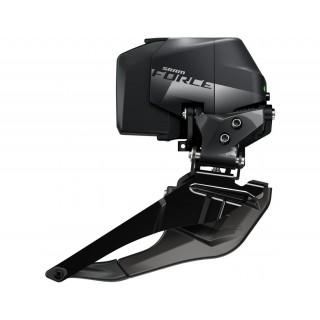 SRAM Force eTap AXS Wide Braze On priekinis pavarų perjungėjas, 2x12 pavarų