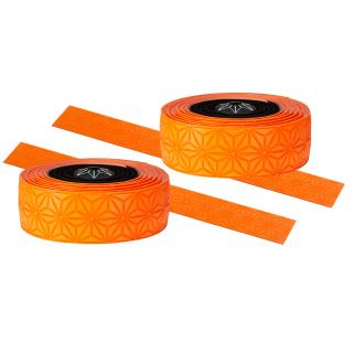 Supacaz Star Fade neoninė oranžinė vairo juosta