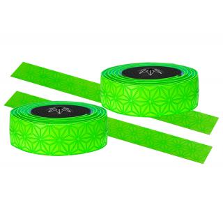 Supacaz Star Fade neoninė žalia vairo juosta