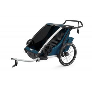 Thule Chariot Cross 2 dviračio priekaba, Majolica Blue