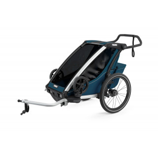 Thule Chariot Cross dviračio priekaba, Majolica Blue