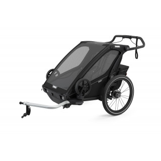 Thule Chariot Sport 2 dviračio priekaba, Midnight Black