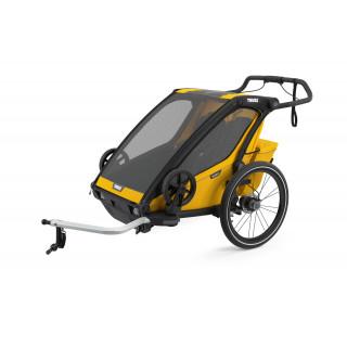 Thule Chariot Sport 2 dviračio priekaba, Spectra Yellow
