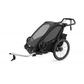 Thule Chariot Sport dviračio priekaba, Midnight Black