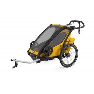 Thule Chariot Sport dviračio priekaba, Spectra Yellow