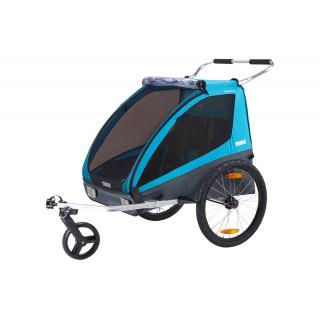 Thule Coaster XT dviračio priekaba, Black/Blue