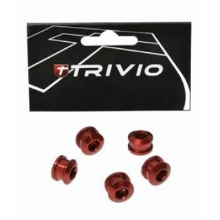 Trivio Race dantračio varžtai, 9.9X4.05, raudoni